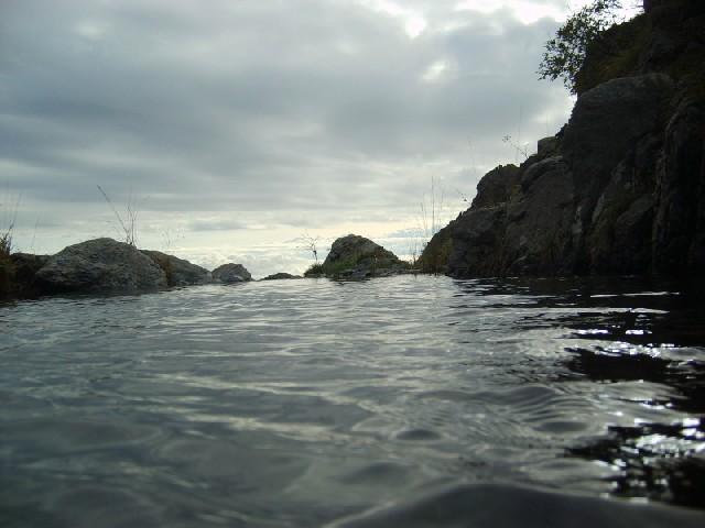 Laghetto lungo il Rio Malanotte
